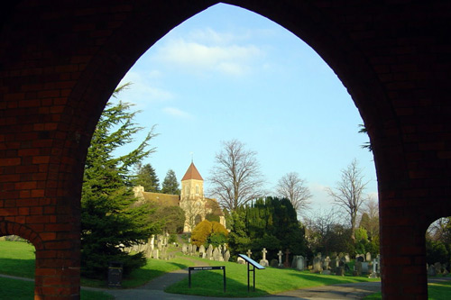 Foster Hill Road Cemetery Arch Entrance