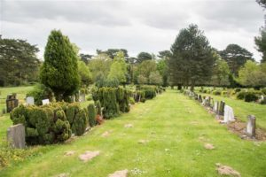 Beautiful Gardens at Foster Hill Road Cemetery