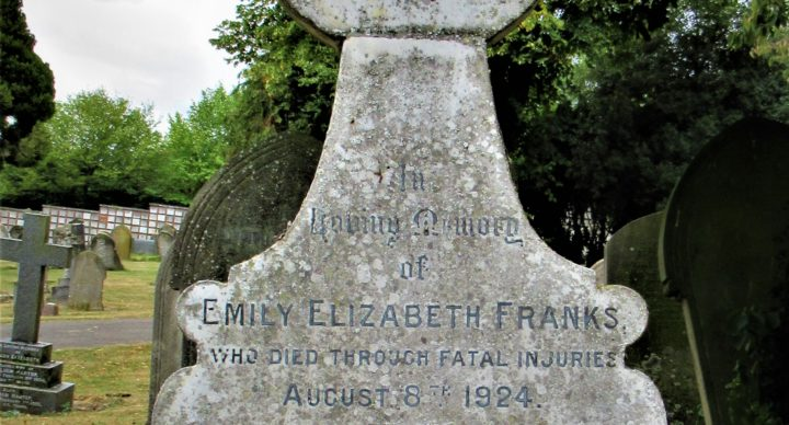 Harry Franks Registrar and Superintendent of Foster Hill Road Cemetery