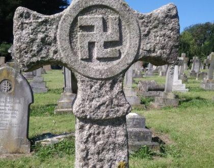 Swastika Headstones