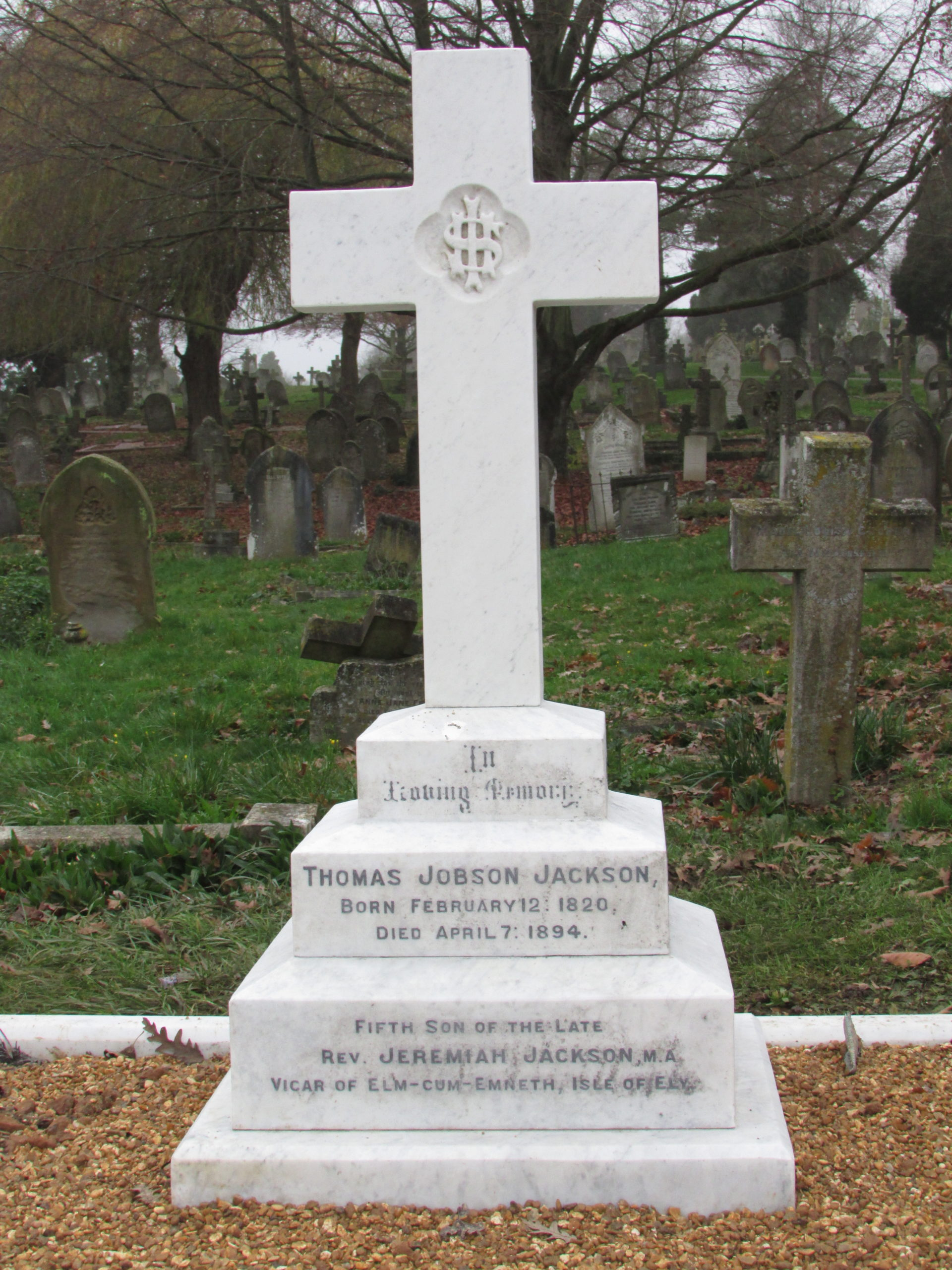 Thomas Jobson Jackson - Architect of Foster Hill Road Cemetery