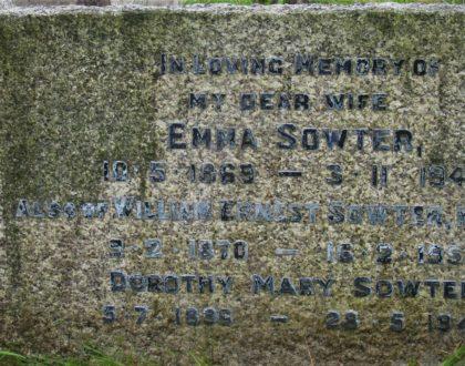William Ernest and Emma Sowter (née Carroll)